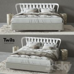 Bed Twils NATURAL