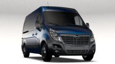 Opel Movano L2H2 Van 2016 3D Model