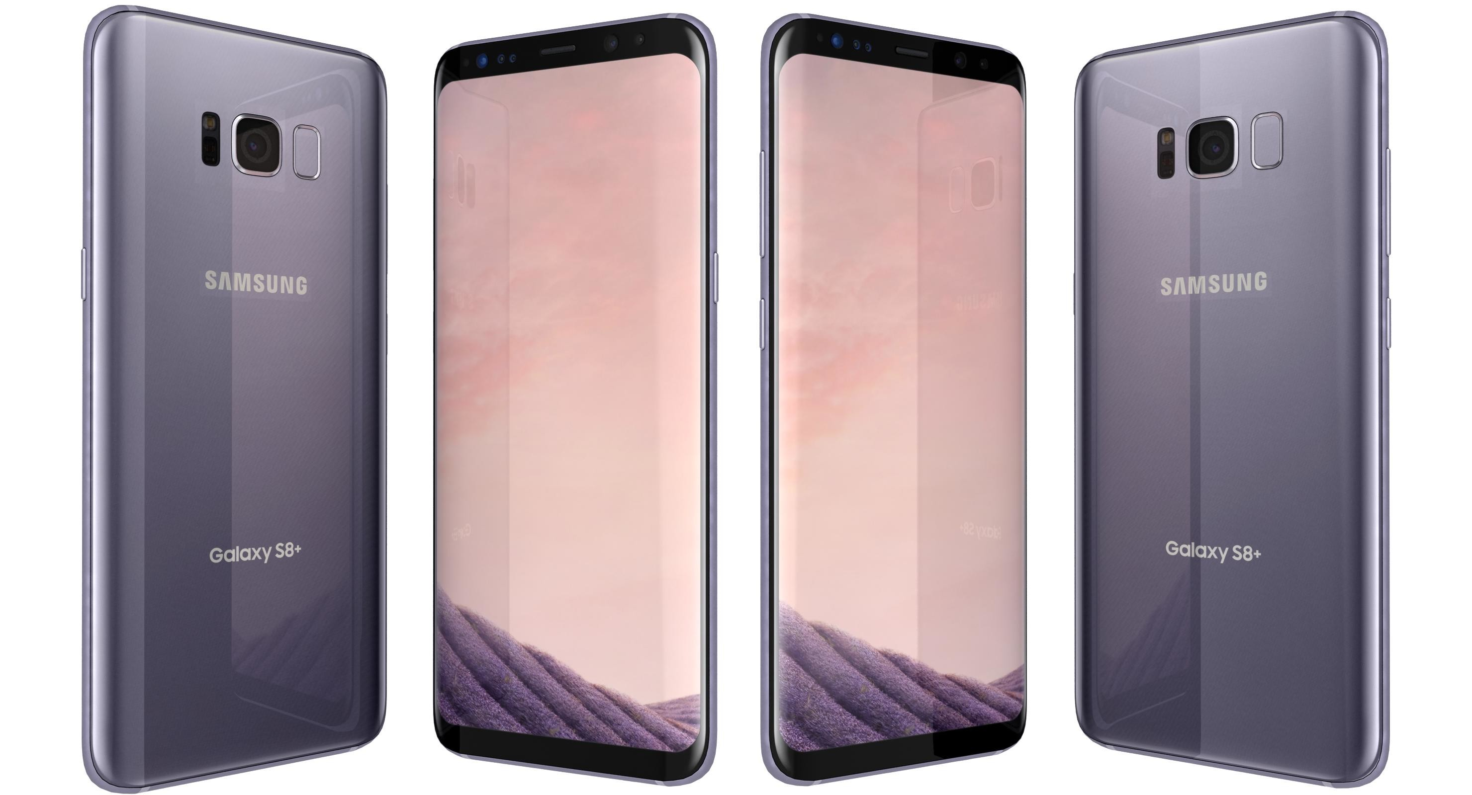 samsung galaxy s8 plus orchid gray. Black Bedroom Furniture Sets. Home Design Ideas