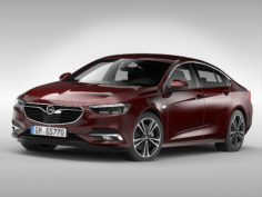 3D Opel Insignia Grand Sport (2017)