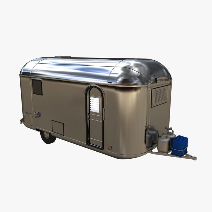 Airstream Caravan model