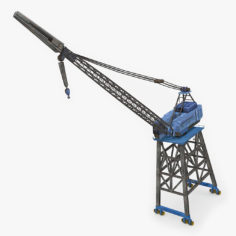 Port Crane 3D