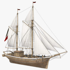 Galeas 3D model