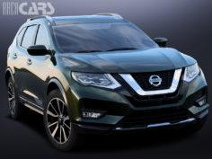 3D Nissan Rogue 2017
