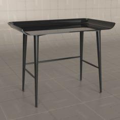 Hive Woood Desk 3D Model