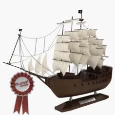 Model Ship 3D model 3D Model