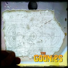 LITHOPHANE GOONIES MAP 3D Print Model