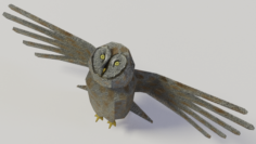 Great grey owl 3D Model