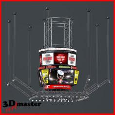 Jumbotron scoreboard 3D model 3D Model