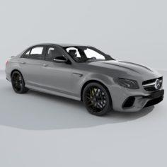 3D Mercedes-Benz E63 S AMG (2017) model 3D Model