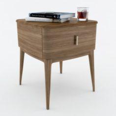 Philipp Selva Indigo bedside table 3D Model