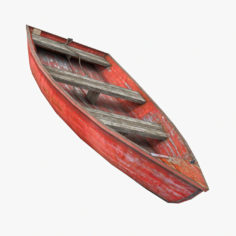 Rowboat 3D 3D Model