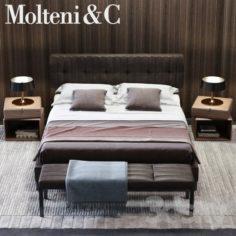 Molteni & C Anton Bed 02                                      3D Model