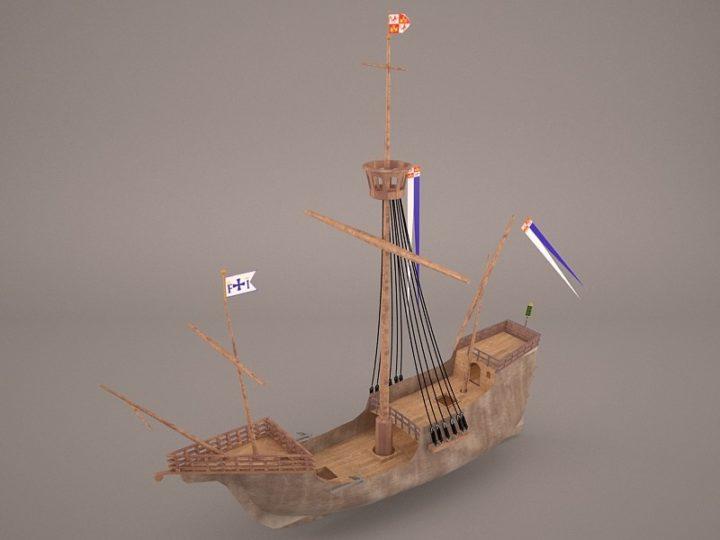 Christopher Ship 3D Model