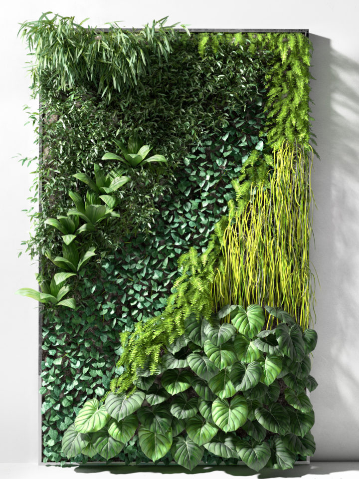 Vertical Garden 3 3D model 3D Model  3DHunt.co