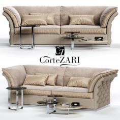 3D CorteZARI TIAGO Sofa 3D Model