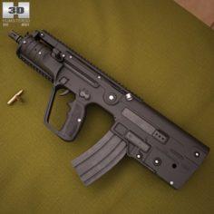 IMI Tavor MTAR21 X95 3D Model