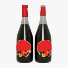 3D model Wine Bottle 3D Model