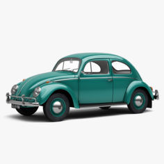 3D Volkswagen Beetle 1962 3D Model