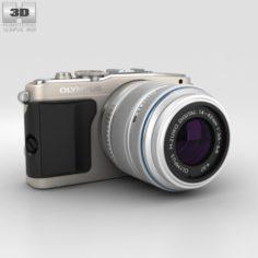 Olympus PEN E-PL5 Silver 3D Model