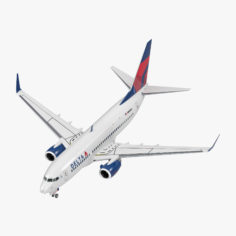 Boeing 737-700 Delta Air Lines 3D Model