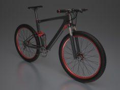 3D model Mountain bike(1) 3D Model