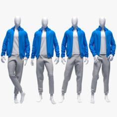 3D Male sport suit 4 3D Model