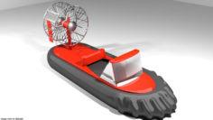 Hovercraft – Racing 3D model 3D Model