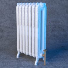 Cast Iron Radiators 3D model 3D Model