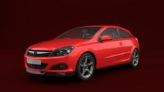 Opel Astra H GTC 3D Model