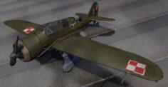 PZL P-23 Karas 3D Model