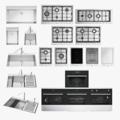 Barazza appliances 3D Model