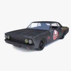 Wrecked 3d Model In Max Fbx C4d 3ds Stl Obj Blend Dwg