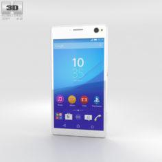 Sony Xperia C4 White 3D Model