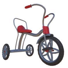 Tricycle 3D 3D Model