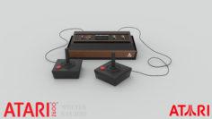 Atari 2600 Video-game 3D Model