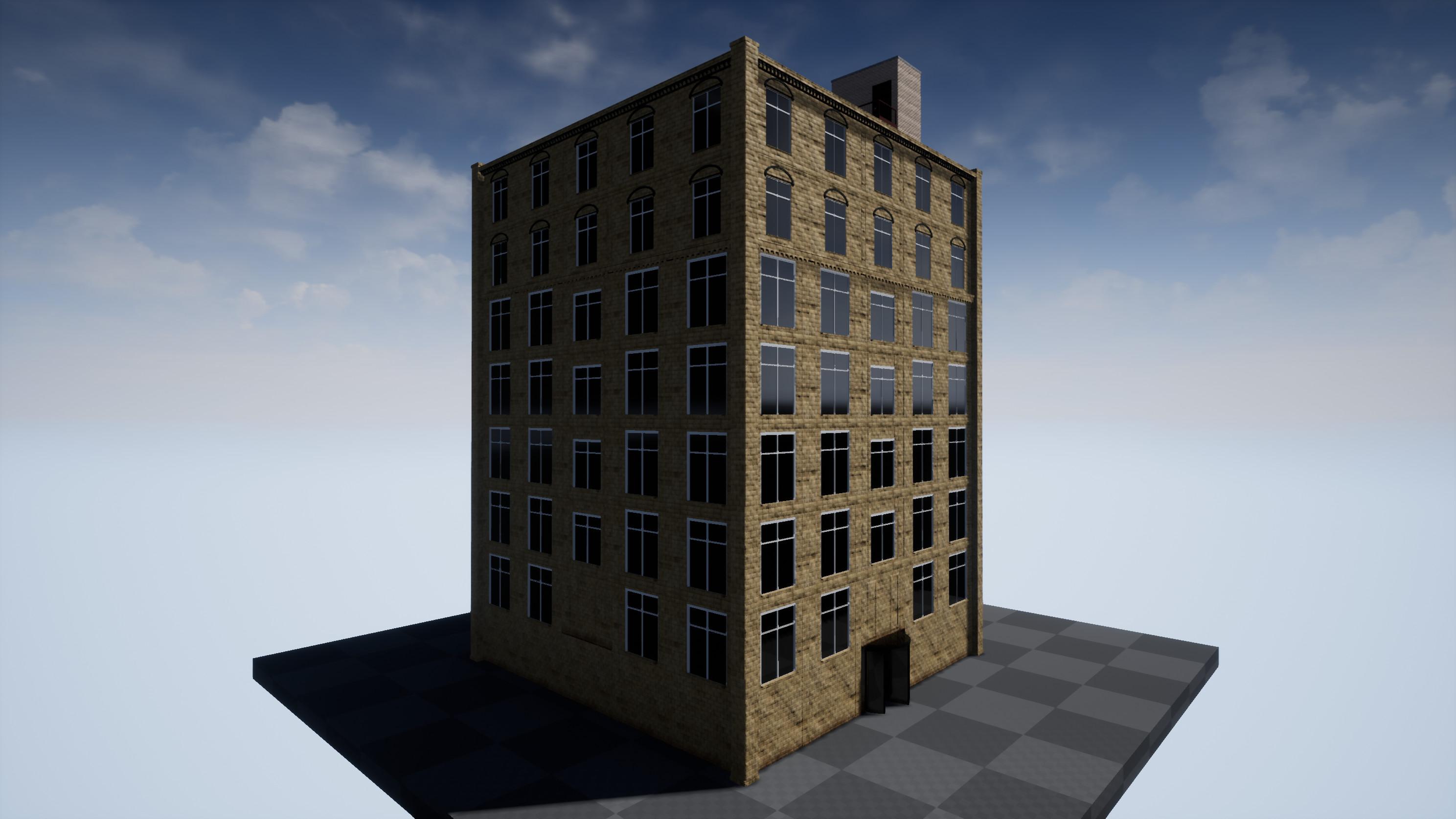 3d modular building set 3d model