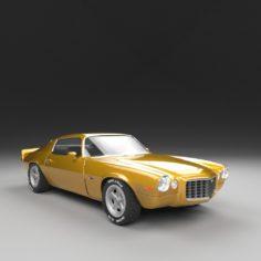 3D CAMARO 1972 Z28 3D Model