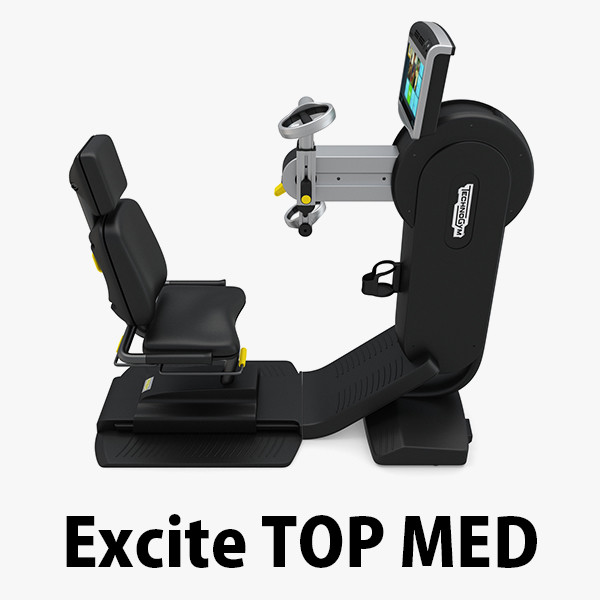 3d technogym excite top med model 3d model. Black Bedroom Furniture Sets. Home Design Ideas
