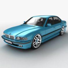 Car business class sedan 3D model 3D Model