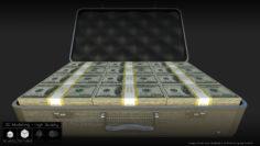 3D model Cash Briefcase 3D Model