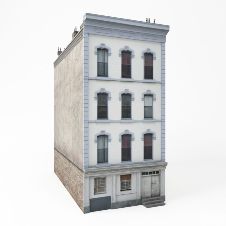 Apartment house ii 3d model for Apartment model house