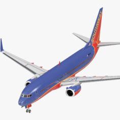 Boeing 737-800 Southwest Airlines 3D model 3D Model