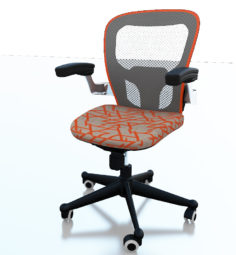 Ofice chair Space 3D Model
