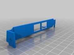 Dual Ethernet Port Bracket 3D Print Model