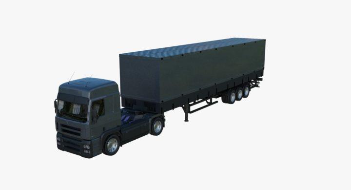 3D model Trailer 3D Model