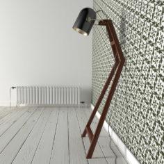 3D Zuraw floor lamp by inDahouze 3D Model