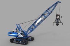 Lego Arctic truck 3D Model
