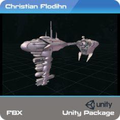Nebulon-B Medical Frigate 3D model Free 3D Model