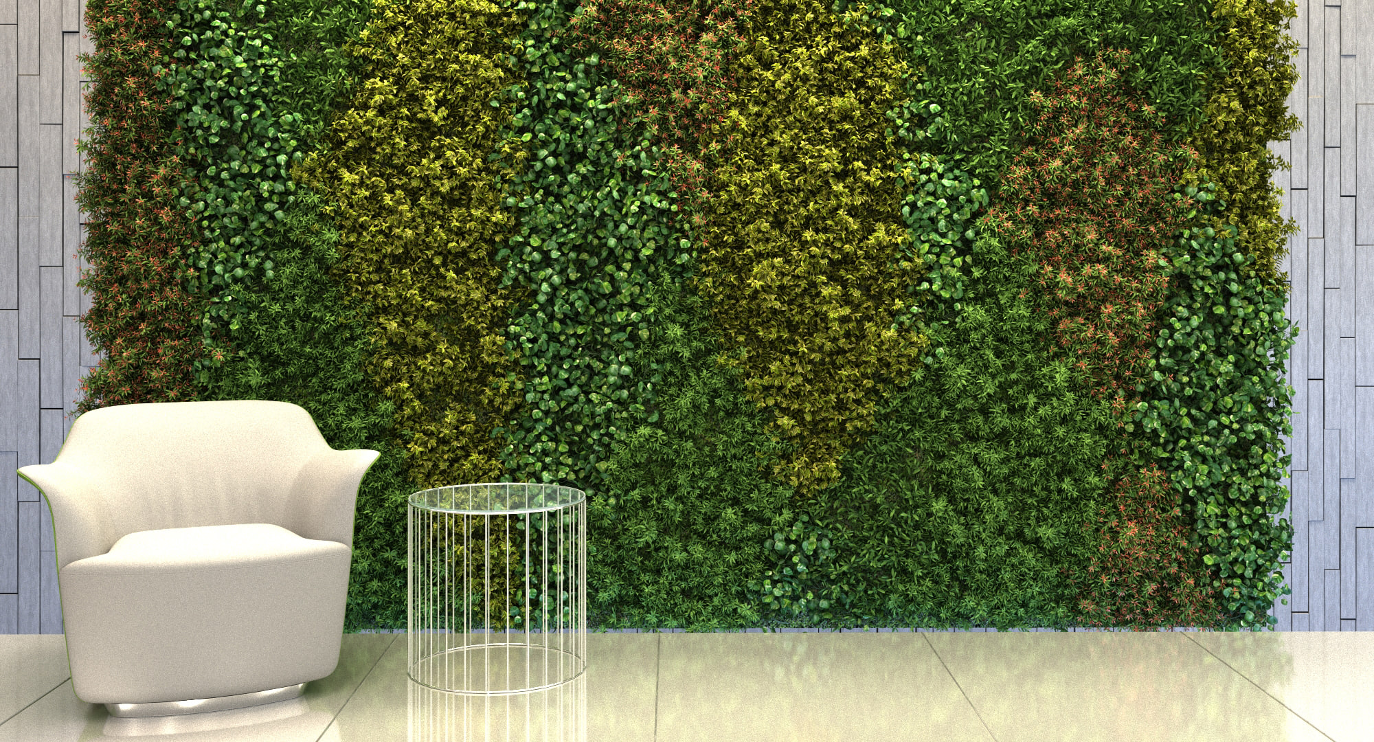 3d Model Vertical Garden 15 3d Model 3dhunt Co